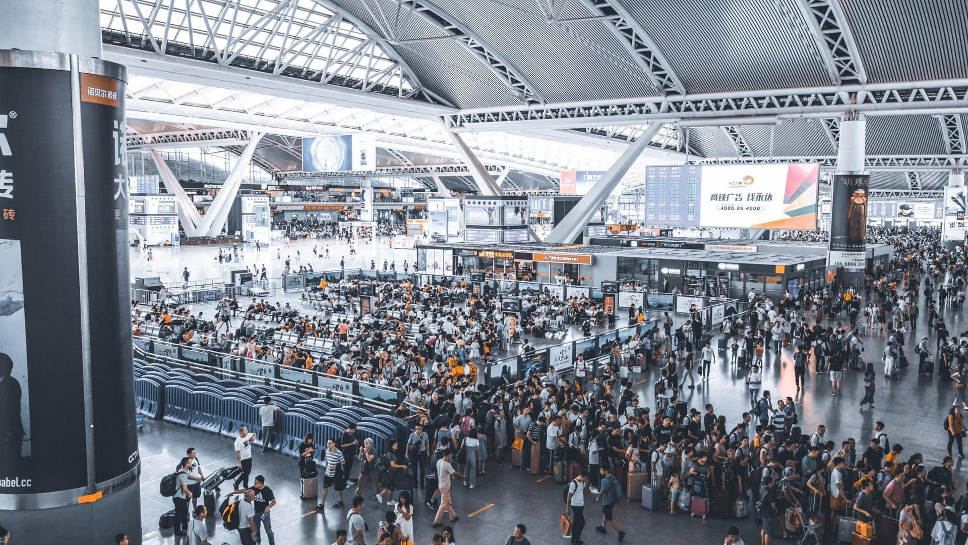 világ legforgalmassabb repülőtere Guangzhou Baiyun Atlanta Hartsfield-Jackson
