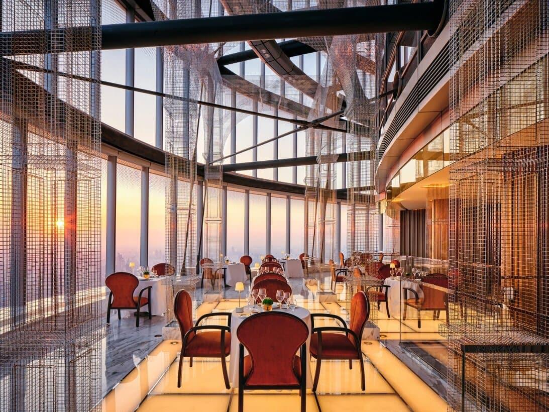 J Hotel Shanghai világ legmagasabb szállodája