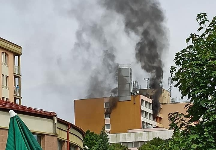 Hotel Freya tűz Zalakaros