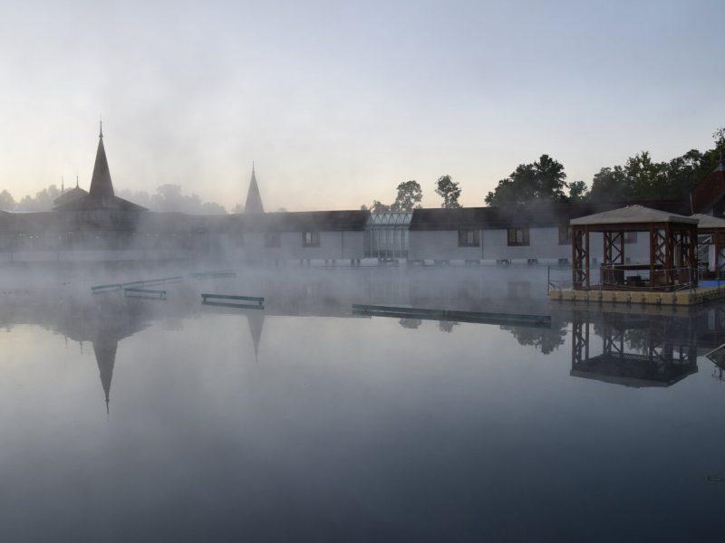 európa 10 legjobb fürdője Hévíz napfelkelte Széchenyi